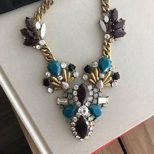 Beautiful Jcrew stone and rhinestones necklace